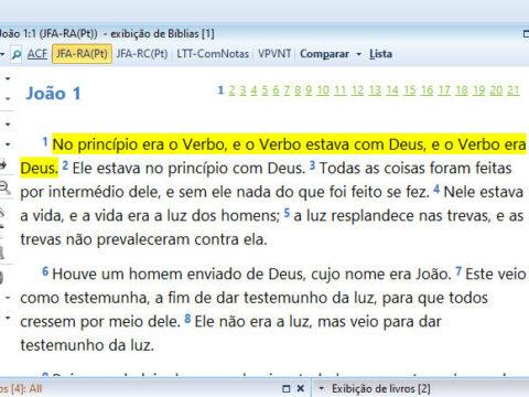 Tradução de João Ferreira de Almeida 2