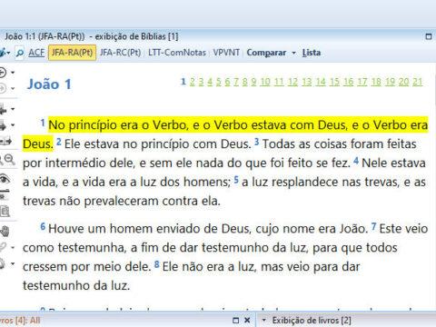 Tradução de João Ferreira de Almeida